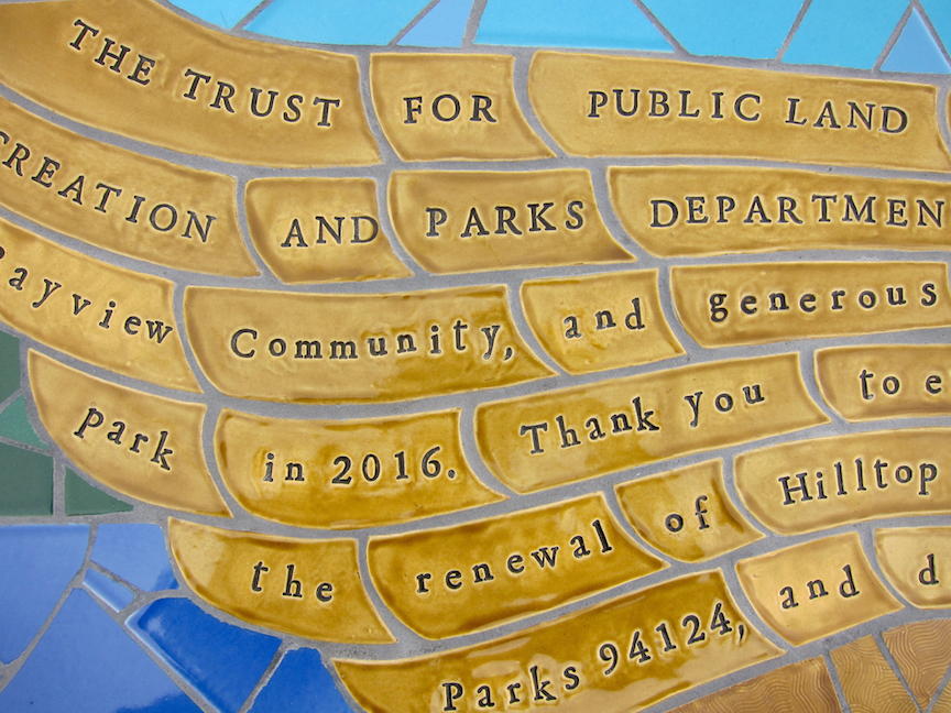 Hilltop Park - Detail of story of the park renovation