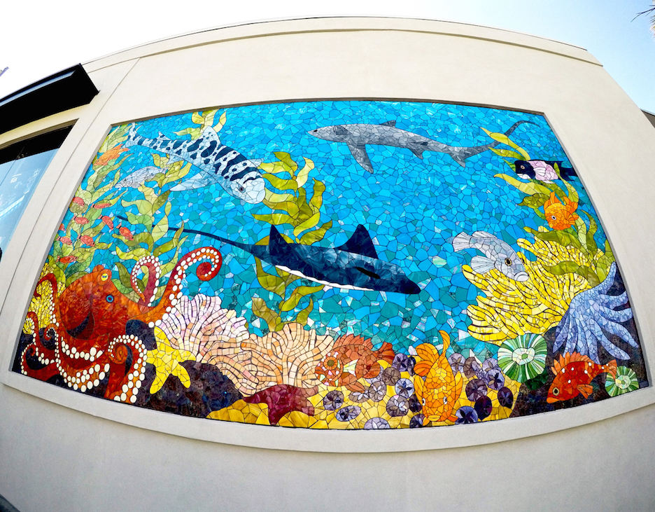 Skechers Ocean Mural, Manhattan Beach, CA