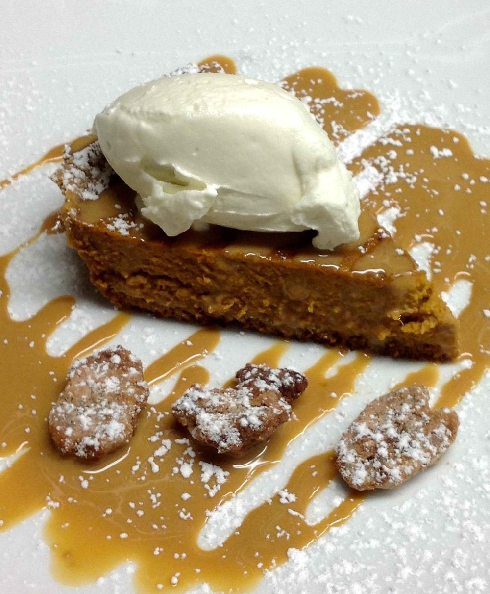 Chef's Famous Pumpkin Pie