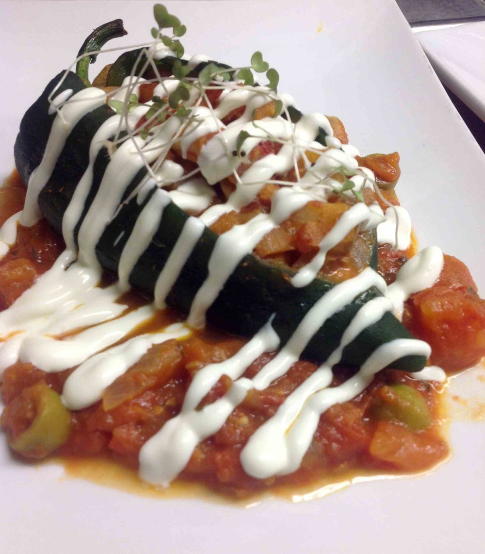 Shrimp Chile Relleno