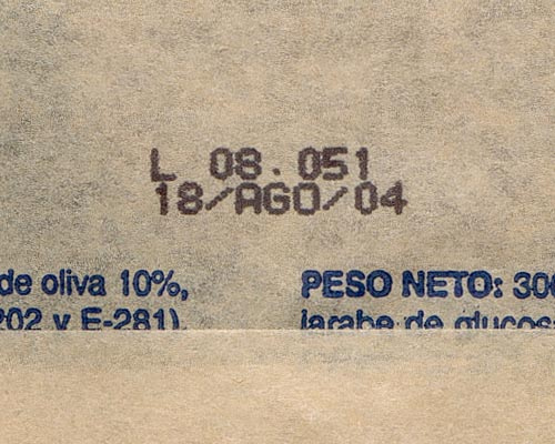 Expiry stamp