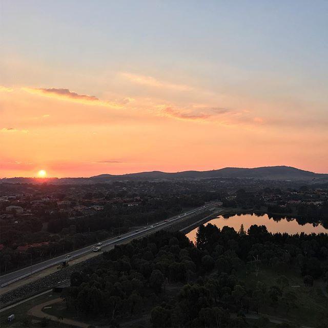 wfh sunset