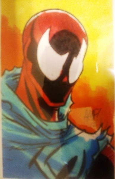 Scarlet Spider Artist: Fleecs