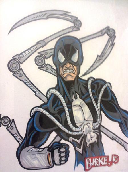 Steel Spider Artist: Burke