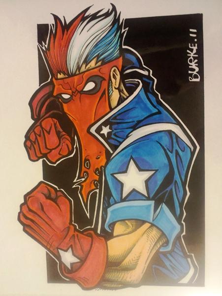 Jack Flag  Artist: Burke