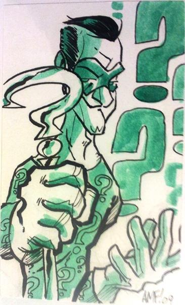 Riddler  Artist: Fleecs