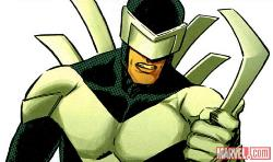 Seriously, why would you be mean and not pay attention to this guy? Do you see that visor?! (image from marvel.com)