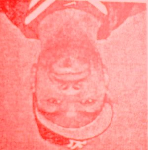 So why am I upside down and red?
