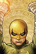 Iron Fist listens to Iron Butterfly--no relation. (image from teaser-trailer.com)