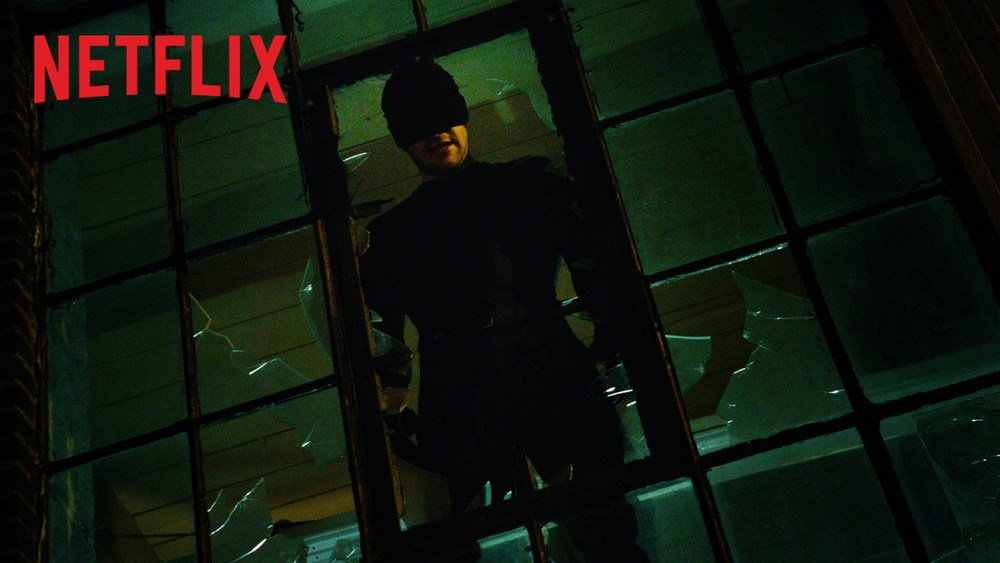 Daredevil from the Netflix Original Series (photo from youtube.com)