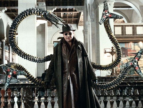 Like it or not, Doc Ock makes this look WORK. (comicvine.com)