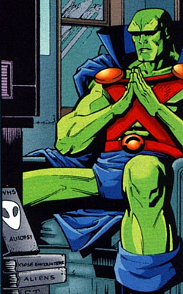 J'onn waits forever by the phone.
