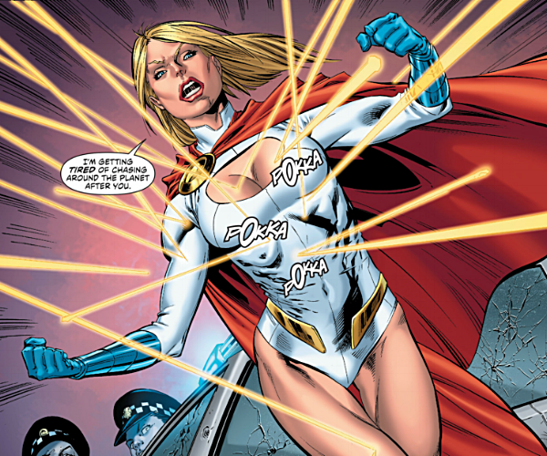 Said Power Girl to the Hollywood establishment.