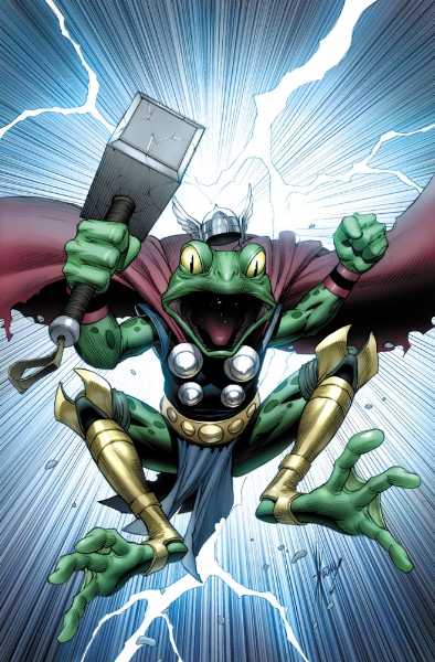 This frog is...HOPPING mad! (marvel.wikia.com)