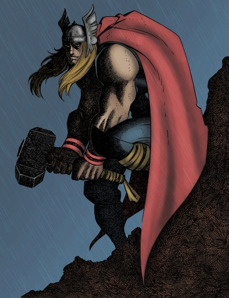 Stand up straight, Thor! Set a damn example! (rainbow-graphic.deviantart.com)
