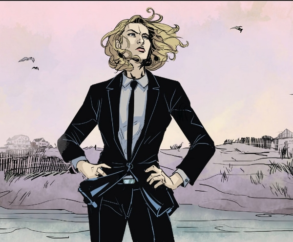 Chase has a pretty sweet job. Gets to hang on the beach. (comicvine.com)
