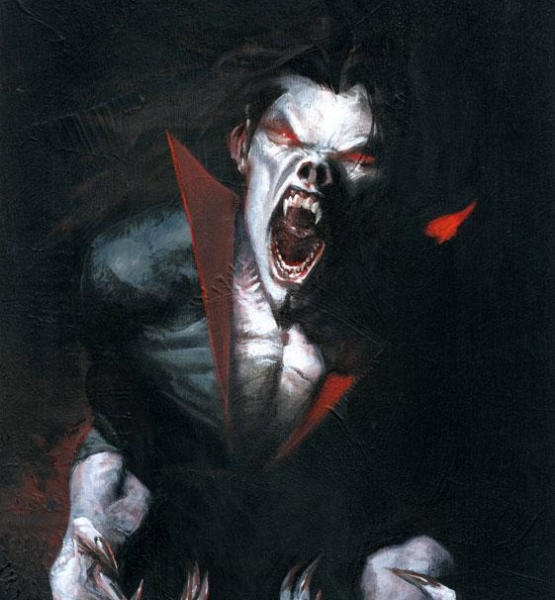 That's no way to greet people Morbius! I'm sorry, he's such a grump today. Come in, come in. (marvel.wikia.com)