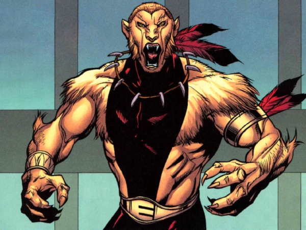 I know his name is Puma but his face is way more snake man. (marvel.wikia.com)