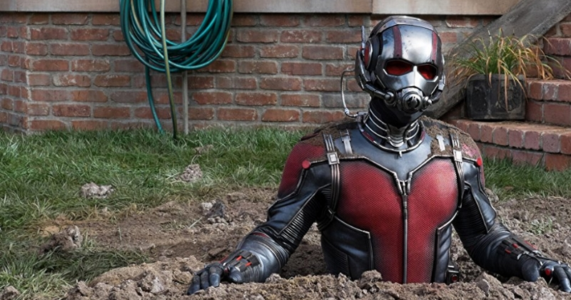 Ant-Man builds his man-sized anthill. (amazon.com)