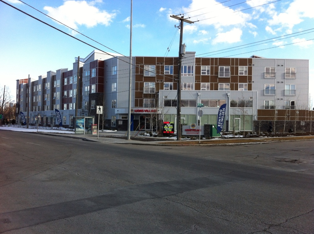 New senior's housing project next to homeless shelter .