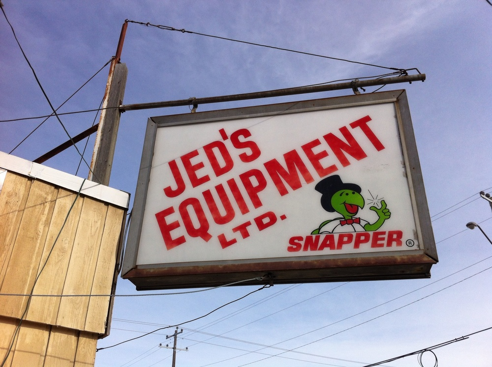 "Everyone loves ""Snapper"" a lawn mower repair shop."