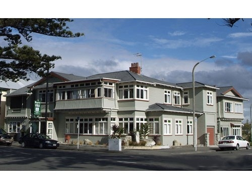 Napier's other hostel - the one I stayed at.