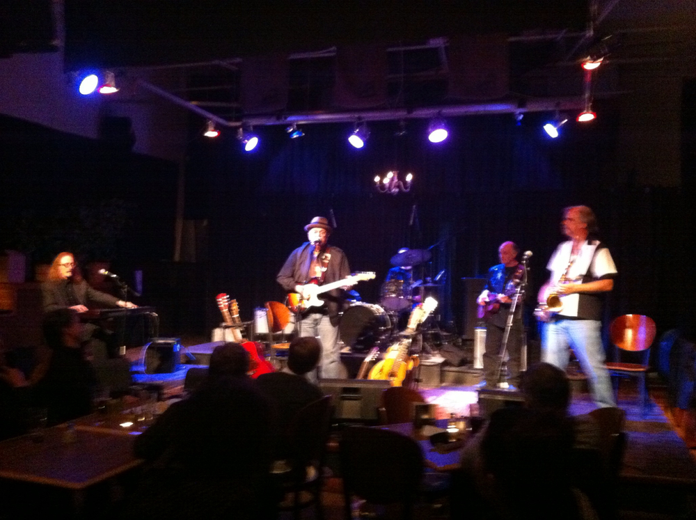 Tim Williams and friends jammin' at his party!