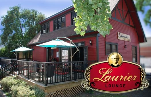 Laurier Lounge which was  George Stanley's the designer of the Canadian Flag's home.