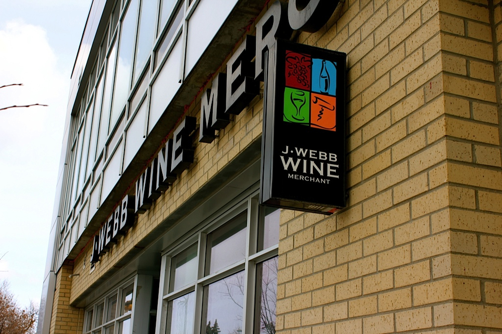 J. Webb Wine Merchants was one of the first privately owned wine and spirit stores in Alberta.  It anchors Killarney's French Corner along with Caissa Bistro and Casel Marche.  Look for more retail boutique developments like this in the future.