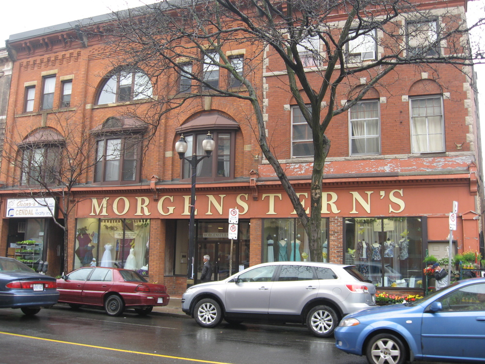 Morgenstern's is not truly a department store. Just one floor, mostly clothing.  There is an entire section of first holly communion dresses and lots of party/graduation dresses that are right out of the '60s maybe '50s.  We are always surprised it is still there when we visit.
