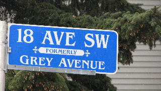 The street signs in Cliff Bungalow show the former street names. From 18th Avenue south to 25th Avenue the names of Canada's Governor Generals after Confederation were used. However the name of the second Governor General John Young, 1st Marquess of Lisgar was not used. Why?