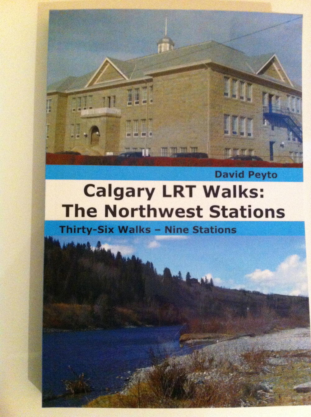 Cover of Calgary LRT Walks: The Northwest Stations