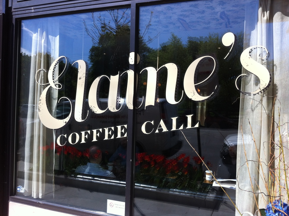 "In order to live small you need to have a coffee spot close by that you feel comfortable hanging out at.  It becomes an extension of your home.  Elaine""s  Coffee Call in the lobby of the Hotel Lincoln is just such a place."