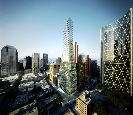 Is Calgary's downtown too dense? with comments — Everyday
