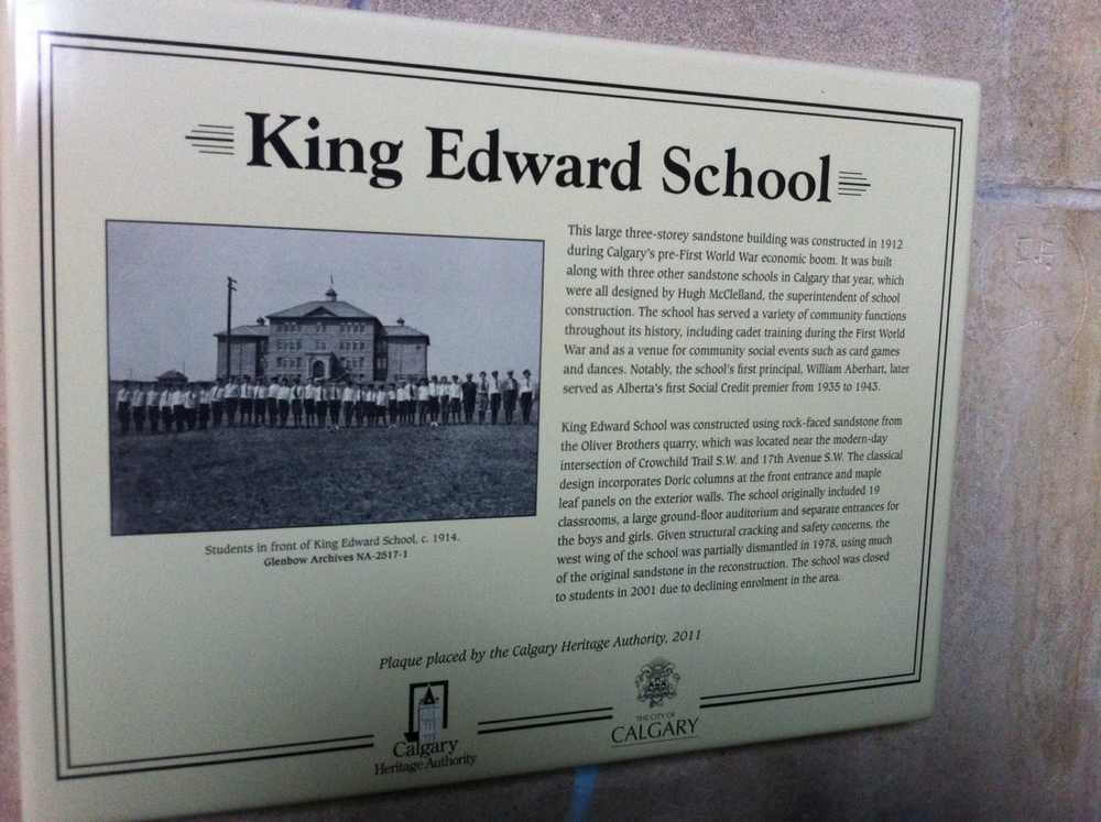 The history of the school.