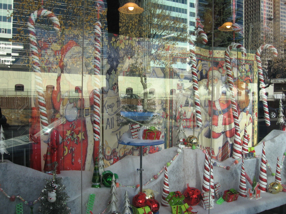This is a Christmas window along 10th Avenue from a few years back.  There are lots of hidden gems along the rail trail if you keep your eyes open.