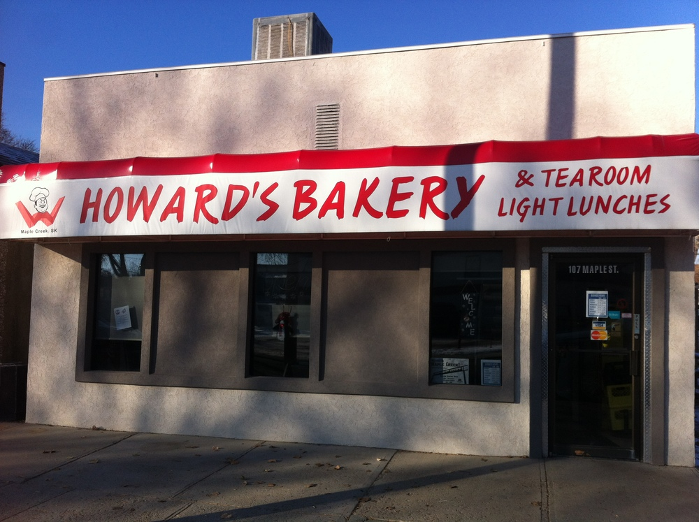 Howard's  Bakery was chosen as best bakery in Saskatchewan in 2013...loved the apple fritters and the maple glazed cinnamon buns.