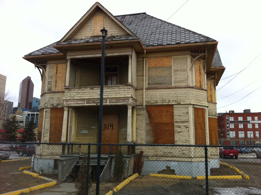 This is the Enoch House that will become part of a small park.  This Queen Anne-style home was built in 1905 by businessman Enoch Samuel Sales.