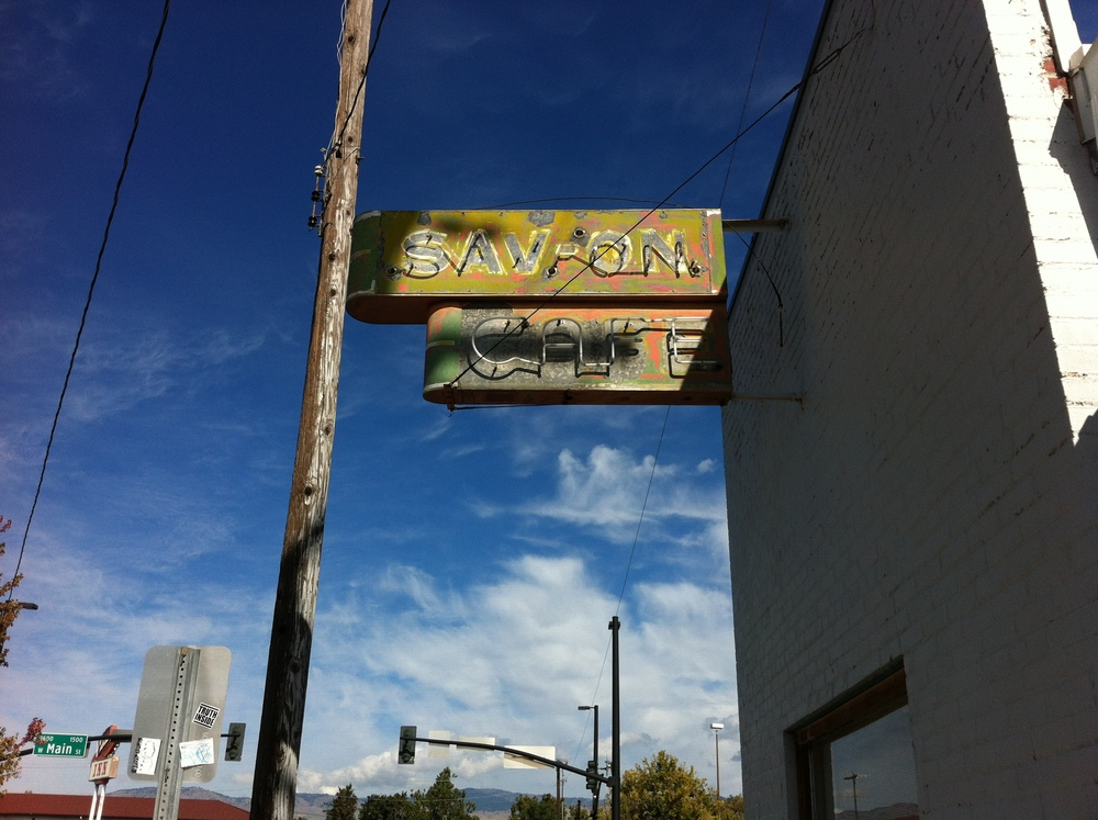 Sav-On Cafe is an artifact from the past that is just begging to be redeveloped as a 21st century cafe or boutique.