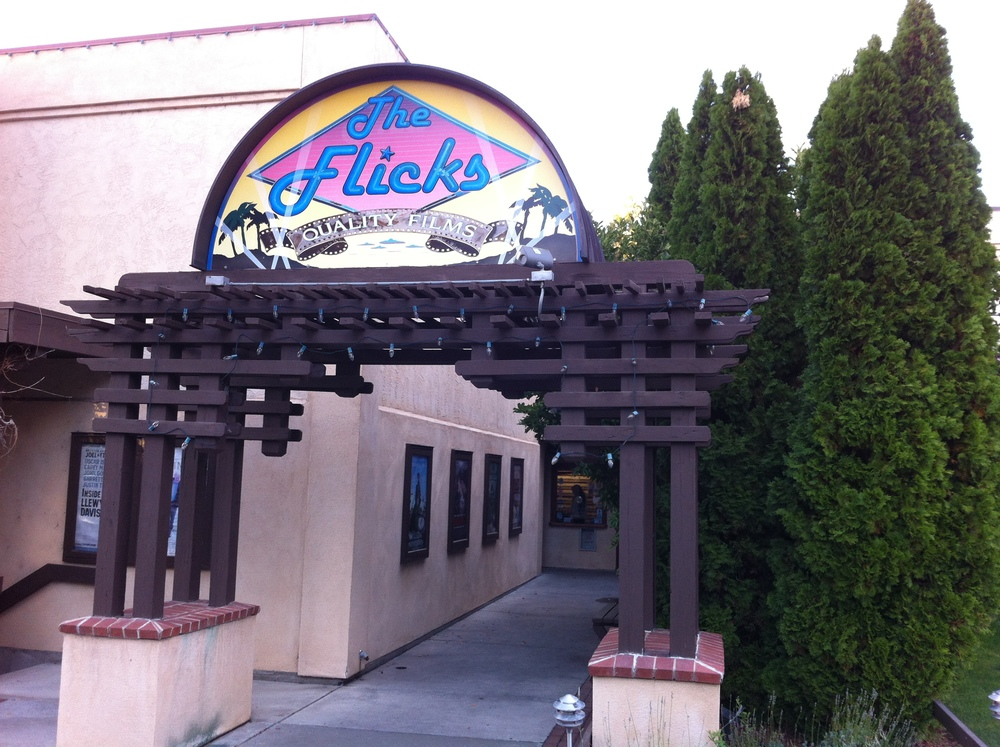 The Flicks is located off the beaten path with the entrance even more hidden from the average downtown pedestrian.