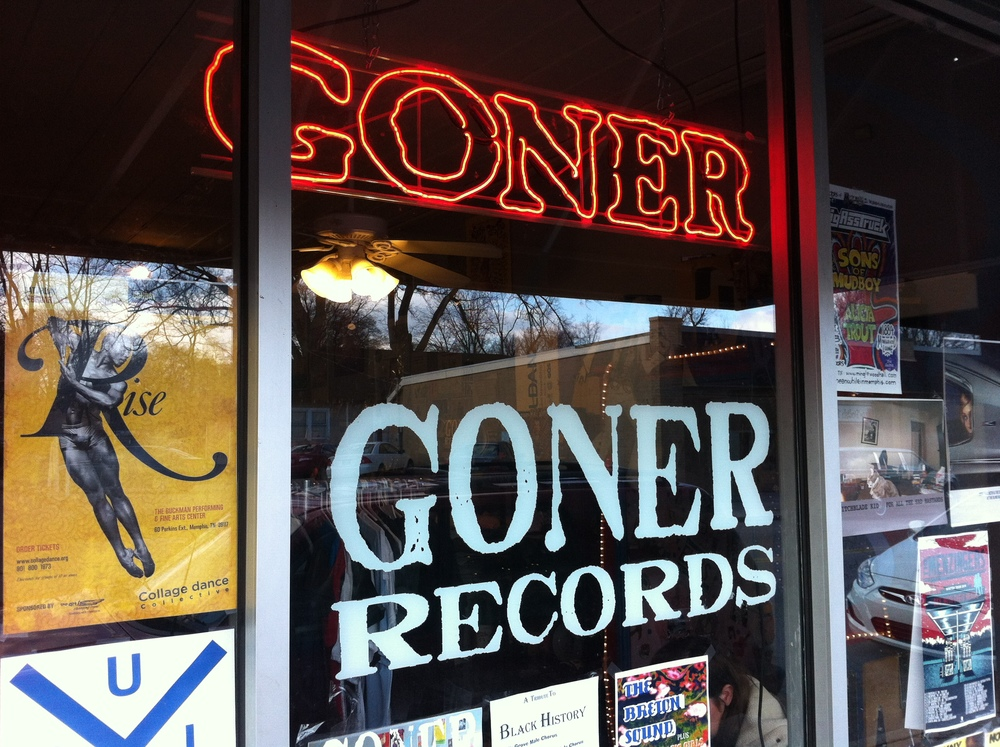 It seemed just too easy to buy some blues records in Memphis.
