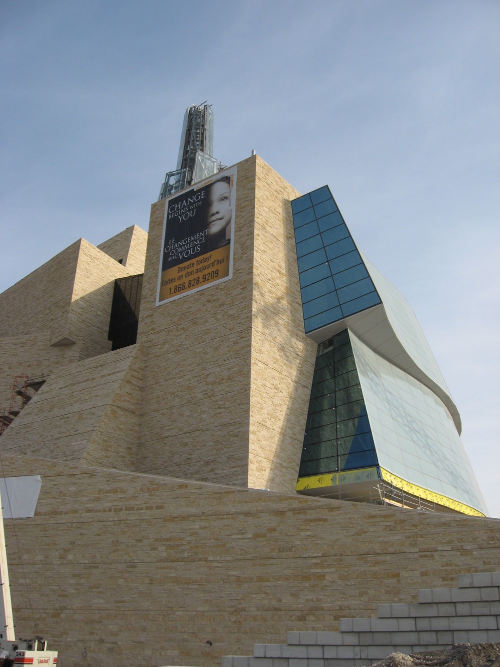 Winnipeg's Human Rights Museum will add another dimension to The Forks, one of North America's best urban people places.