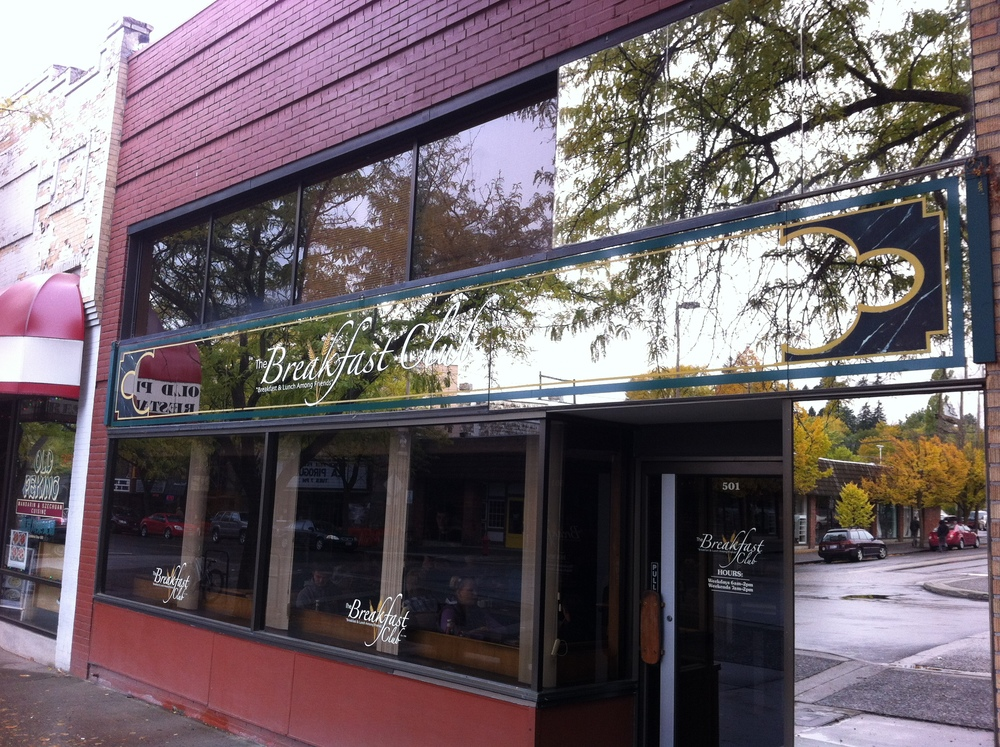 Our equivalent to McLean's Sackville was Moscow, Idaho, also a university town and this was one of our favourite breakfast spots. Check out the Huckleberry Zucchini Bread or the Lemon Poppy Seed french toast.  We will be back!