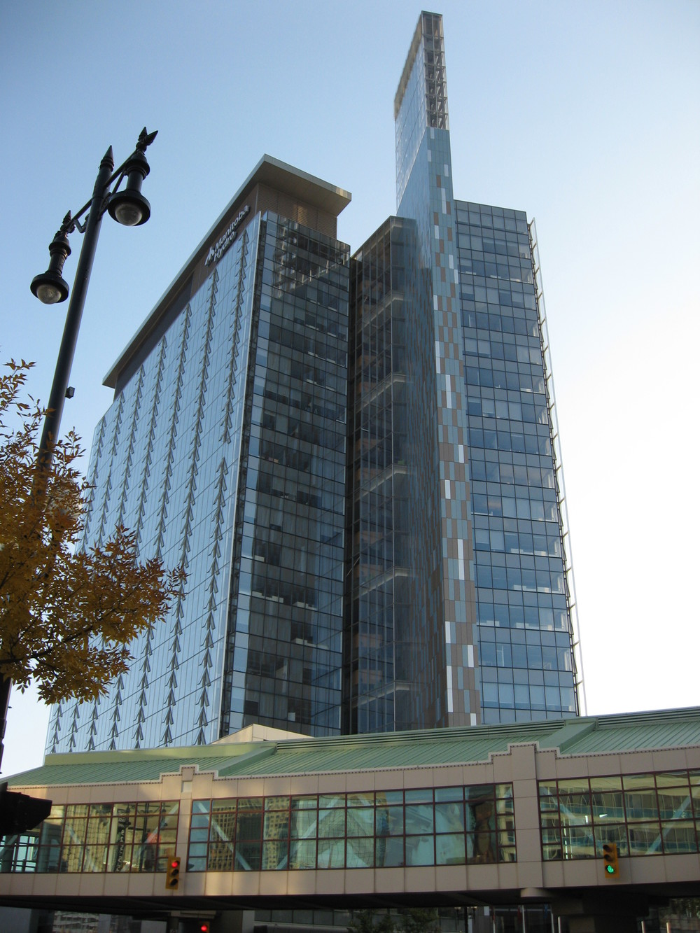 Manitoba Hydro building was one of the first LEED Platinum office building in North America.