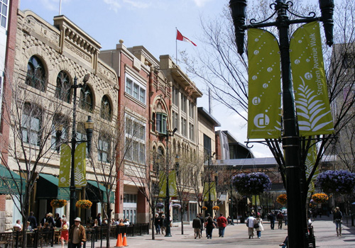 Calgary's Stephen Avenue is a National Historic District and one of North America's best restaurant rows.
