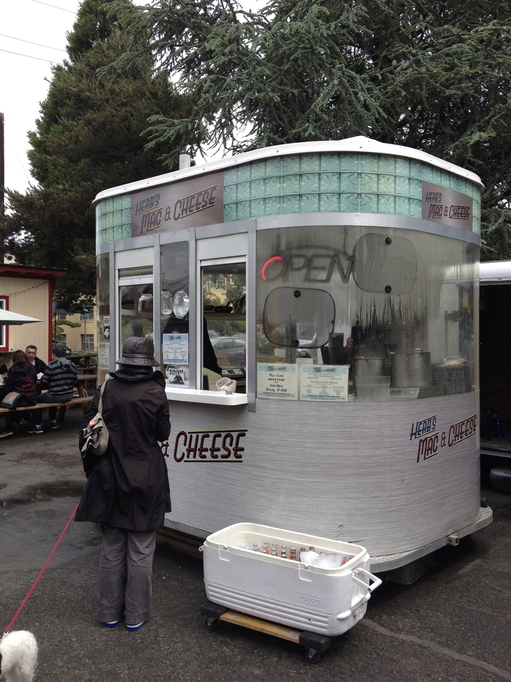 One of the hundreds of fun food carts scattered throughout Portland, Oregon.