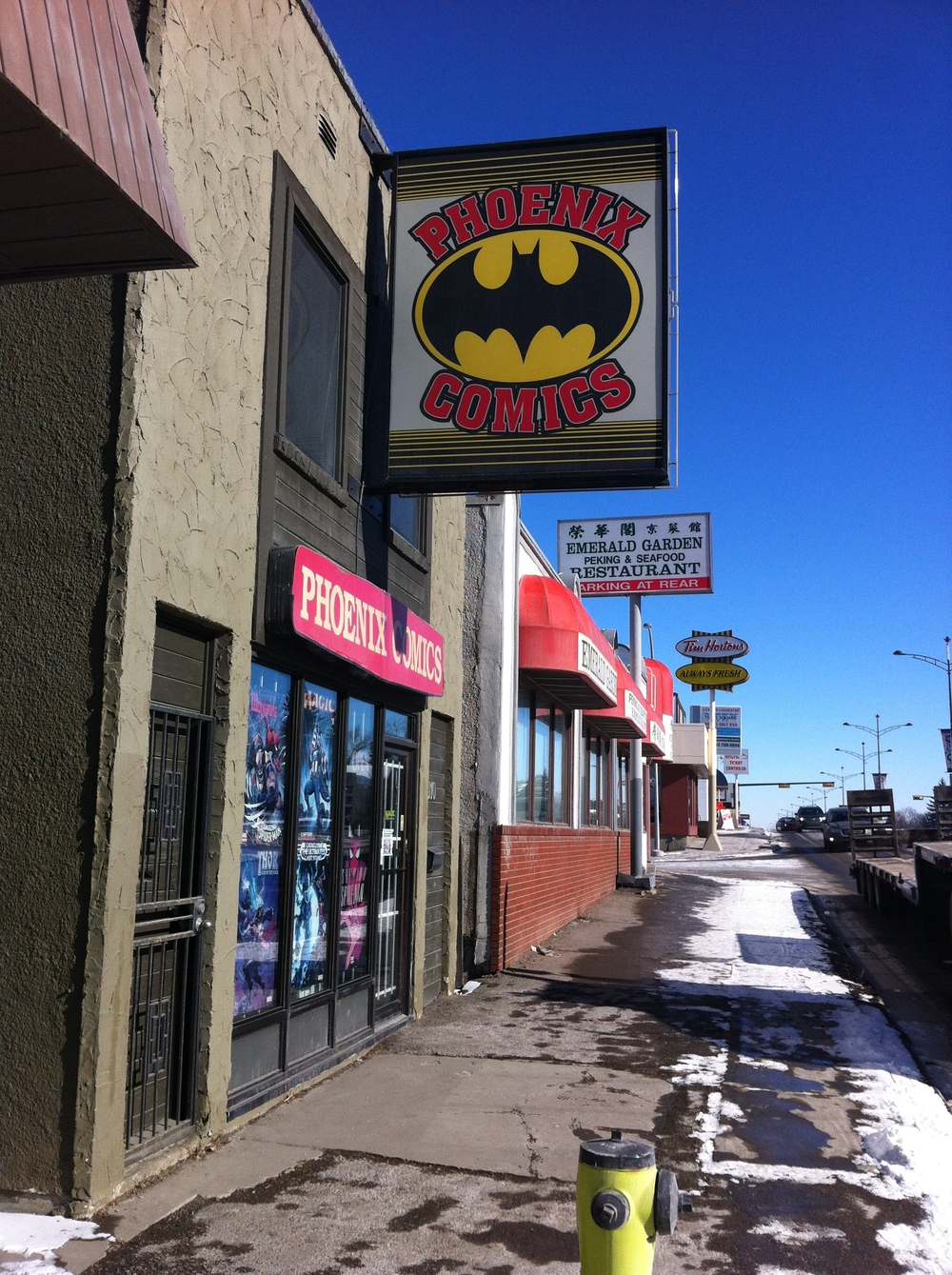 Don't judge a story by its street presence. Inside this unassuming store is the motherlode of comics and magic cards.