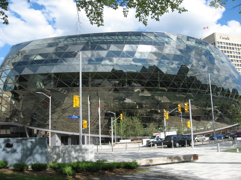Ottawa's new Convention Centre. (Cost $170 million)