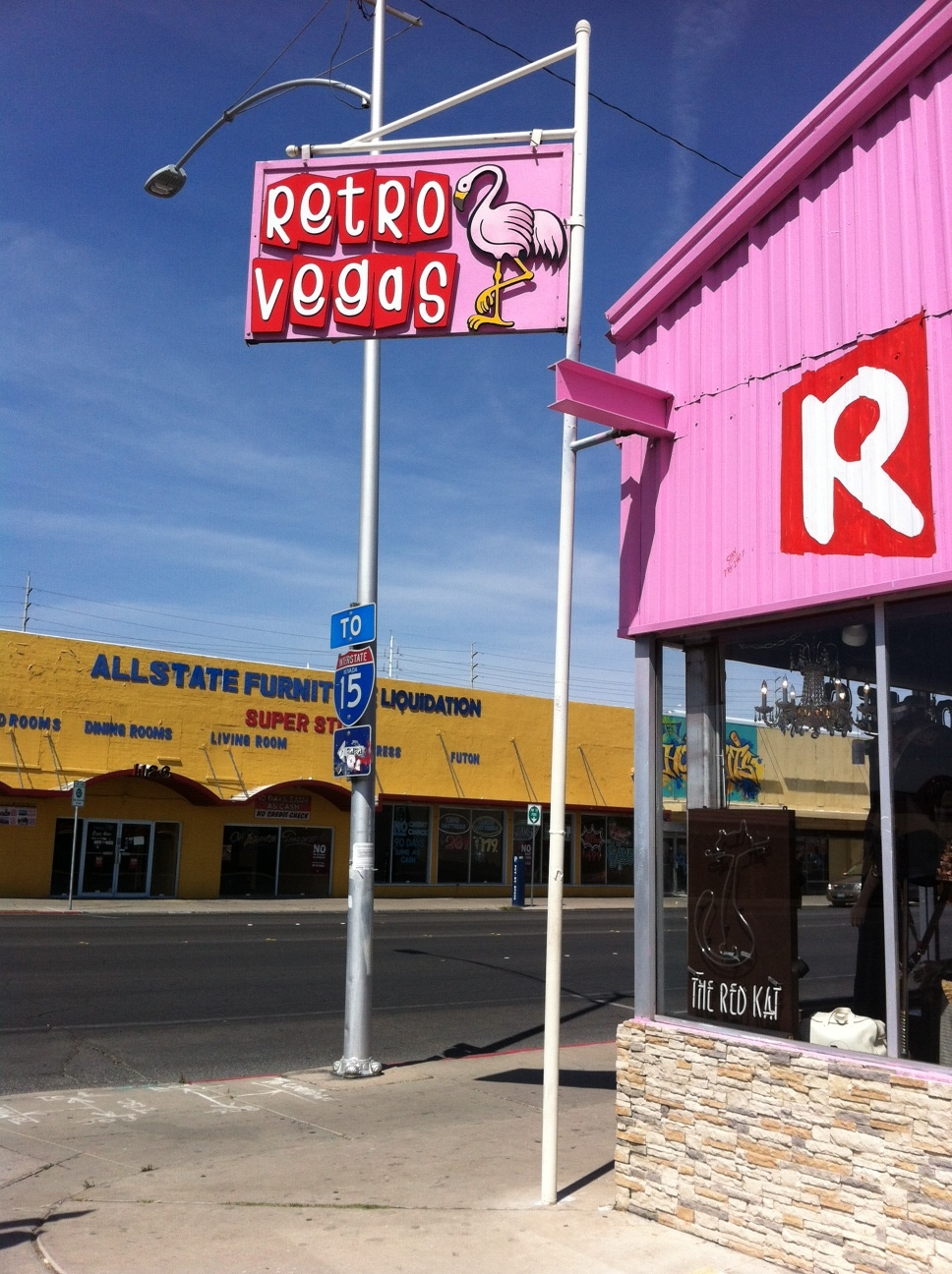 Retro Vegas (aka Vegas' other pink flamingo) is one of the best vintage stores we have visited in the past few years.