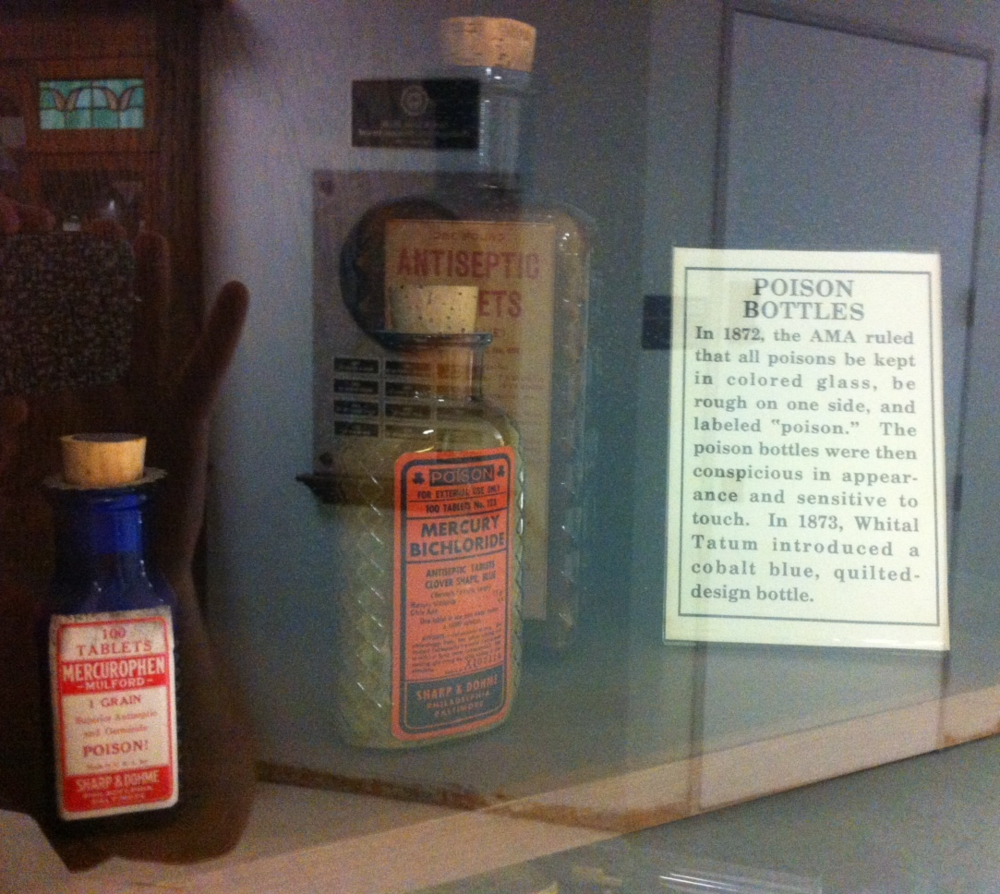 One can only wonder what pharmacists used poisons for in the 19th century.